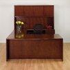 OSP Furniture Sonoma U-Shape Executive Desk with Hutch