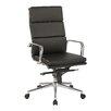 OSP Furniture Adjustable High-Back Executive Chair