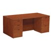 OSP Furniture Napa Double Pedestal Executive Desk