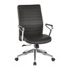 OSP Furniture Manager's Chair with Arms and Base
