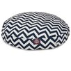 Majestic Pet Products Chevron Round Pet Bed