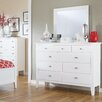 Signature Design by Ashley Langlor 9 Drawer Dresser with Mirror