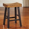 "Signature Design by Ashley Glosco 25"" Bar Stool (Set of 2)"