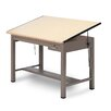 Mayline Group Laminate Ranger Steel Four-Post B Combination Table