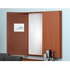 Mayline Group Brighton Series Visual Presentation Enclosed Whiteboard, 4' x 4'