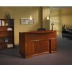 Mayline Group Sorrento Series Rectangular Reception Desk with Veneer Counter