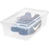 Iris 6 Quart Shoe Storage Box (Set of 10)