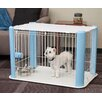 Iris Dog Play Pen with Mesh Roof