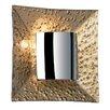 Endon Lighting 1 Light Flush Wall Light