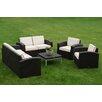 Strata Furniture 5 Piece Deep Seating Group (Set of 5)