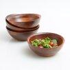 Woodard & Charles Salad With Style Individual Salad Bowls Set (Set of 4)