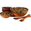 Woodard & Charles 7 Piece Provence Salad Bowl Set