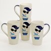 Woodard & Charles Meet the Ladies 14 oz. Latte Mug (Set of 4)