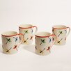Woodard & Charles Dragonfly 21 oz. Mug (Set of 4)