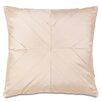 Eastern Accents Bardot Marilyn Chamois Pleats Throw Pillow