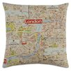 Eastern Accents Passport Mind the Gap Throw Pillow