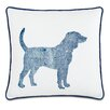 Eastern Accents Wild Things Dapper Dog Throw Pillow