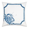 Eastern Accents Outdoor Blue Crab Throw Pillow