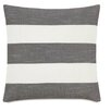 Eastern Accents Epic Stone Duvall Slate stripes Down Throw Pillow