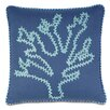Eastern Accents Olympia Breeze Coral Down Throw Pillow