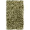 Chandra Rugs Paper Shag Green Rug