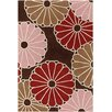 Chandra Rugs Thomaspaul Patterned Designer Brown Area Rug