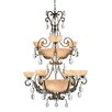 Fredrick Ramond Barcelona 16 Light Chandelier