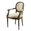Hokku Designs Freilja Linen Arm Chair