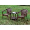 Hokku Designs Elwyne 3 Piece Seating Group
