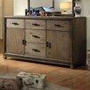 Hokku Designs Karla 5 Drawer Combo Dresser with Mirror