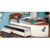 Hokku Designs Platform Bed with Trundle