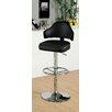 Hokku Designs Ruperte Adjustable Height Swivel Bar Stool with Cushion