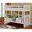 Hokku Designs Caitlyn Twin Over Twin Standard Bunk Bed