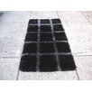 Hokku Designs Delsik Black/Grey Rug