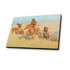 Lamp-In-A-Box The Buffalo Runners, Big Horn Basin 1909 by Frederic Remington Painting Print