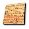 Lamp-In-A-Box Antique Sheet Music Textual Art