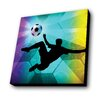 Lamp-In-A-Box Soccer Kick Graphic Art