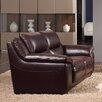 Creative Furniture Leroy Leather Loveseat