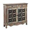 Stein World Cladius 2 Drawer 2 Door Cabinet