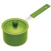 Kitchen Craft Colourworks Non-Stick Coated Mini Saucepan with Lid in Green (Set of 36)