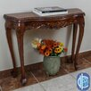 International Caravan Windsor Hand Carved Wood Console Table
