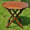 International Caravan Highland Acacia Folding Patio Table