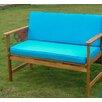 International Caravan Royal Tahiti Wood Garden Bench
