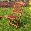 International Caravan Highland Folding Dining Side Chair (Set of 2)