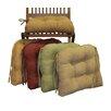 Blazing Needles Dining Chair Cushion (Set of 2)
