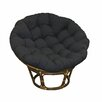 Blazing Needles Solid Rocking Chair Cushion