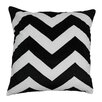 Blazing Needles Indian Chevron Cotton Throw Pillow