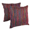 Blazing Needles Throw Pillow (Set of 2)