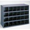 "Durham Manufacturing 23.88"" H x 33.75"" W x 12"" D Opening Parts Bin Cabinet"