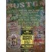 Graffitee Studios Boston All Things Textual Art on Wrapped Canvas